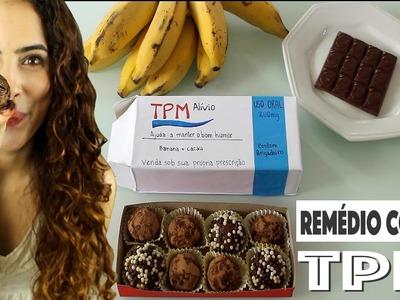 REMÉDIO contra a TPM: BRIGADEIRO de banana + DIY caixinha | Paula Stephânia