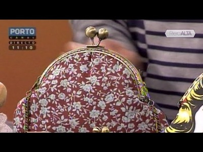 Bolsas com Fecho da Avó | Parte 1 - Costura com Riera Alta