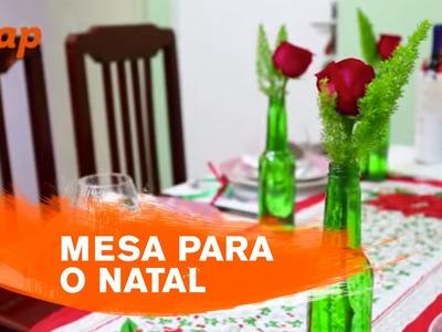Como reaproveitar objetos de casa e criar uma decoração prática para a mesa de Natal - ZAP