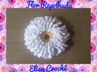 Flor em crochê # Elisa Crochê