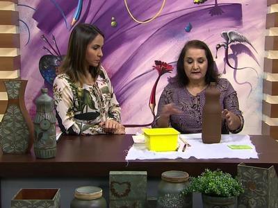 Mulher.com - 08.04.2016 - Envelhecimento de vidro - Ana Lucia Alvin  PT1