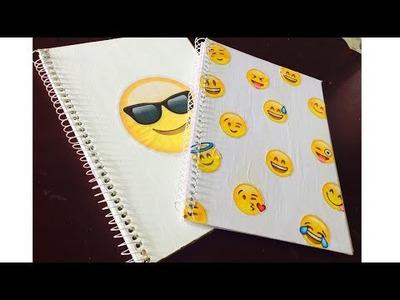 DIY: Caderno de Emoji - Especial Volta as aulas #1 - Arte em Tudo