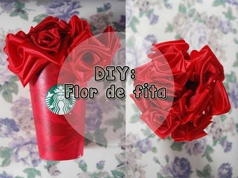 DIY: Flor de fita l Meu Mundo Criativo