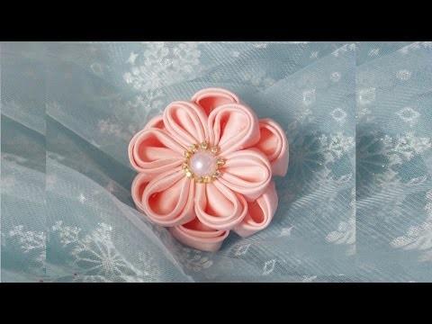 DIY: Flor para cabelo
