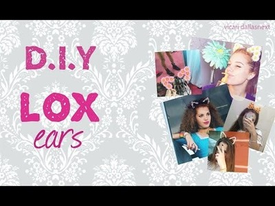 DIY - Lox ears! (Tiaras)