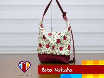 Bolsa sacola e mochila Natasha - Maria Adna Ateliê - Cursos e aulas de bolsas de tecido