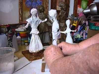 Estrutura de Arame para Esculturas - Artesanato Popular