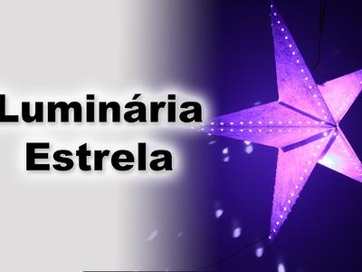 Luminaria Estrela de Papel - Star Lantern