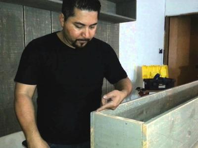 Movel de madeira bruta modulos 2.3