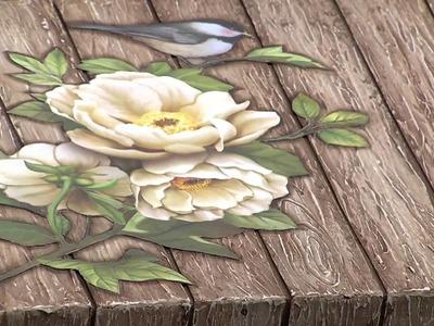 Mulher.com 23.02.2015 Célia Bonomi - Ripado com textura Parte 2.2