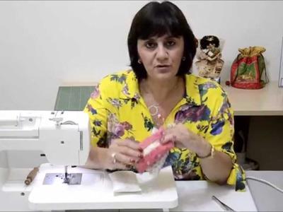 Porta lenços de papel - Vídeo-aula Profa. Marilia Marino