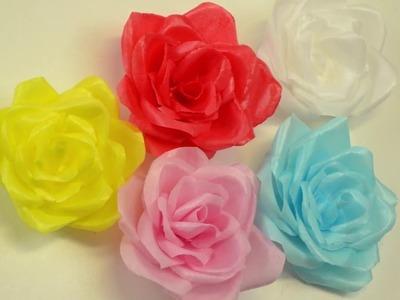 Rosas de Papel de Arroz