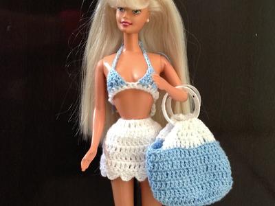Bolsa de praia *barbie* - LiiArt