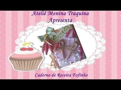 Caderno de Receita Fofinho Prof  Janaina U Alves
