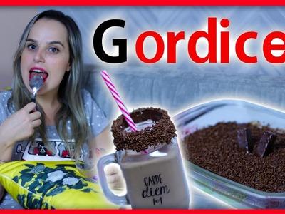 Dia de Gordice #1 - 2 Receitas fáceis e deliciosas #VaiGordinha