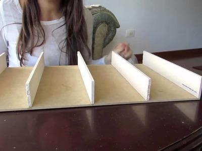 DIY Organizador de Esmaltes  Pautips Pautips