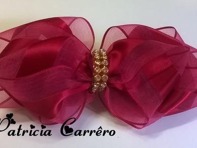 Laço de organza \ ribbon bow
