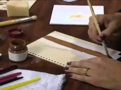 Passo a passo artesanato: Caderno de Receitas parte 1