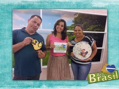 Programa Arte Brasil - 20.04.2016 - Luciano Albano e Adriana Alves