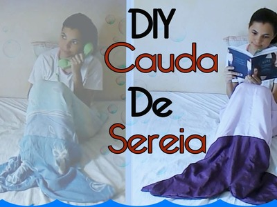 DIY - Cobertor Cauda de Sereia - Bordando TV