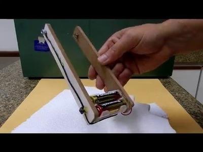 DIY: FAÇA UM CORTADOR DE ISOPOR EM 5 MINUTOS- SIMPLES & PRÁTICO