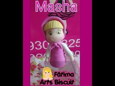 DIY Masha Lembrancinha  na caixa de acrilico ( BIY MASHA E O URSO )