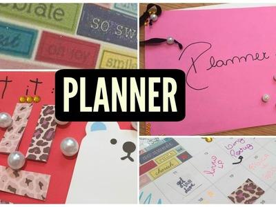 DIY: planner anual