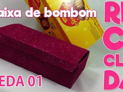 DIY - Reciclando caixa de bombom #VEDA 01