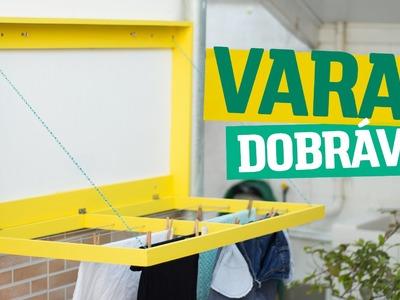 DIY - VARAL DOBRÁVEL | Diycore