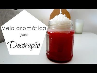 Como fazer vela aromatizada DIY | #POCFazendoArte Ep. 47