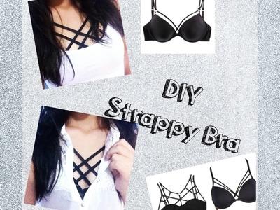 DIY: Como fazer sutiã de tiras | Strappy Bra ♥