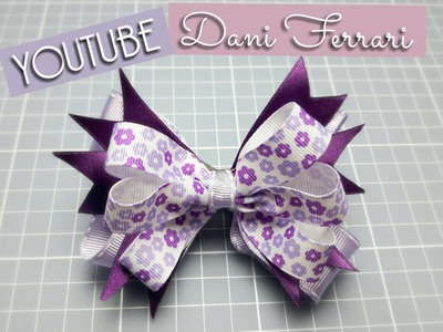 COMO FAZER LAÇO DE FITA DE CETIM - DIY - HOW TO DO AN EASY BOW - PAP - RIBBON - Dani Ferrari
