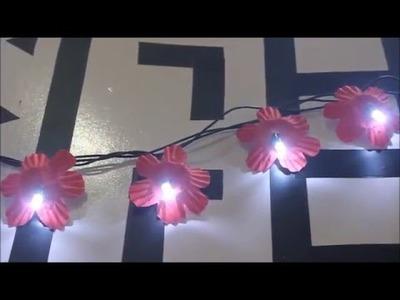 DIY: Como usar pisca-pisca para decorar