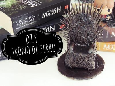 DIY | Trono de Ferro (Com Papel Alumínio) ♥