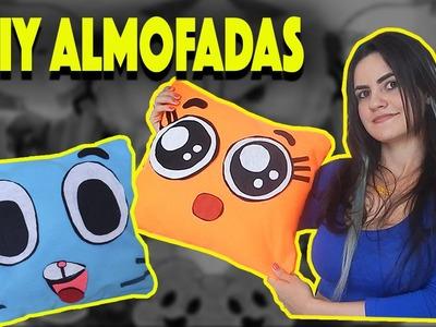 DIY Almofada - O Incrível Mundo de Gumball l Bisbilhotice