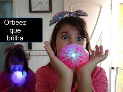 DIY- Bola de Orbeez -  Anti stress -  Que brilha ! Faça você mesmo