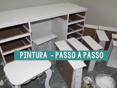DIY: FAÇA SUA PENTEADEIRA    PINTANDO E ECONOMIZANDO