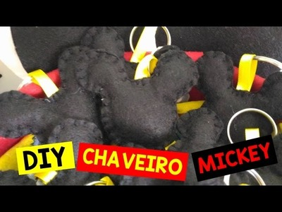 DIY: Chaveiro do Mickey