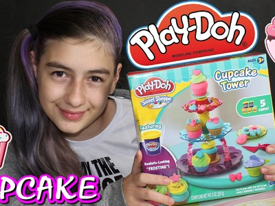 Play Doh Fábrica de Cupcakes Massinha de Modelar (Super Massa, Comprinha, DIY) Play Dough