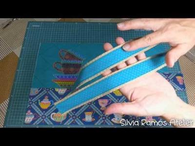 DIY - Capa para caderno - Silvia Ramos Atelier