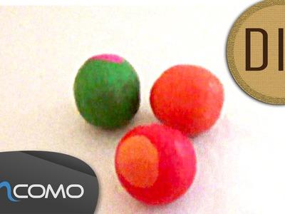 DIY - Bolas de Malabares com Arroz