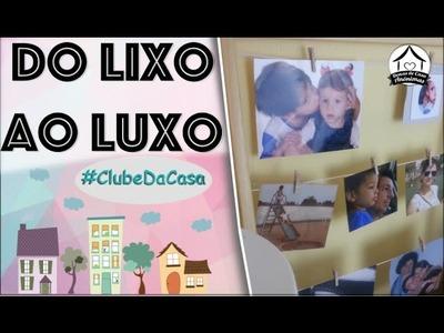 DIY, do lixo ao luxo: vida a uma moldura sem futuro #clubedacasa
