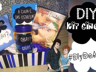 DIY - kit Cinema | Especial dia dos Namorados - #DiyDoAmor
