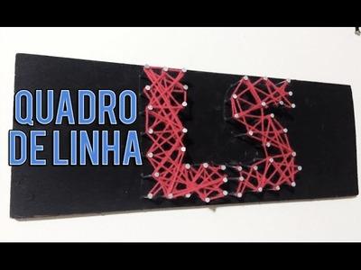 DIY: QUADRO DE LINHA DE LÃ- LUAN SANTANA -puLSação LS ep.59