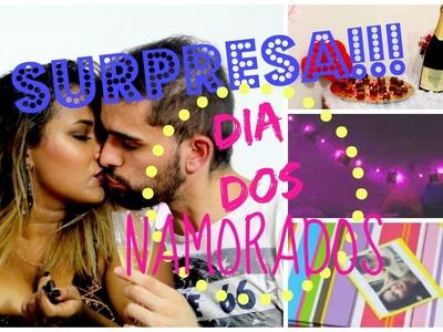 DIY - SURPRESA ROMÂNTICA para o dia dos namorados | Aline Mendes