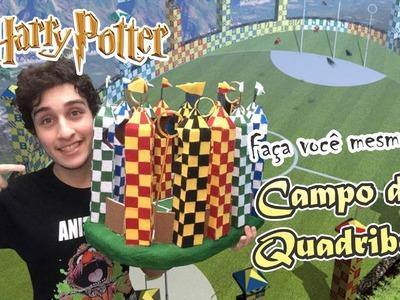 DIY; Faça você mesmo! Maquete Campo de Quadribol! Harry Potter! Atenção Sorteio!