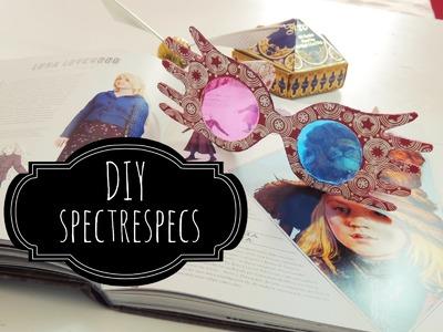 DIY | Óculos Luna Lovegood (Spectrespecs)