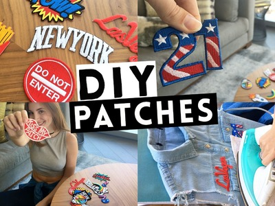 DIY. Customizando seu COLETE JEANS com PATCHES! - Rápido e Fácil!