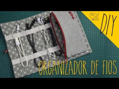 DIY ::: Organizador de Fios - By Fê Atelier