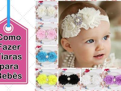 Como Fazer DIY - Como Fazer Tiaras Para Bebês